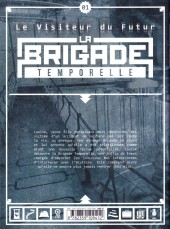 Verso de Le visiteur du Futur - La Brigade temporelle -1- Tome 01
