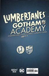 Verso de Lumberjanes/Gotham Academy (2016) -2- Lumberjanes / Gotham Academy Part 2 of 6