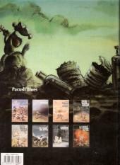 Verso de Pacush Blues -2c1994- Second souffle : Jefferson ou le mal de vivre
