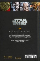 Verso de Star Wars - Légendes - La Collection (Hachette) -2030- Clone Wars - V. Les Meilleurs Lames
