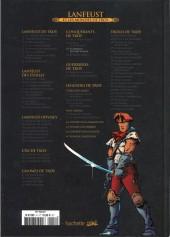 Verso de Lanfeust et les mondes de Troy - La collection (Hachette) -33- Les Conquérants de Troy - La Bataille de Port-Fleuri