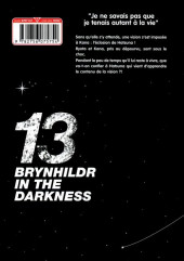 Verso de Brynhildr in the Darkness -13- Tome 13