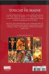 Verso de Marvel Comics : Le meilleur des Super-Héros - La collection (Hachette) -15- La Torche Humaine (Jim Hammond)