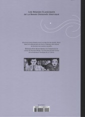 Verso de Les grands Classiques de la Bande Dessinée érotique - La Collection -1121- Histoire d'O - tome 1