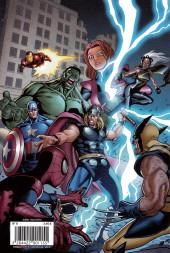 Verso de Marvel Fun -8- 2 maxi BD des avengers