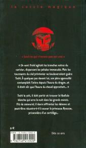 Verso de (AUT) Baudoin, Edmond - Les larmes de la libellule