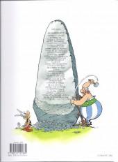 Verso de Astérix (Hachette) -4c12- Astérix gladiateur