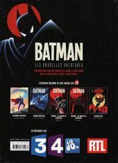 Verso de Batman : Les Nouvelles Aventures -Été- Batman - Les nouvelles aventures épisode 1
