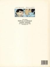 Verso de Jacques Gallard (Une aventure de) -3- Zoulou Blues