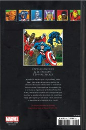Verso de Marvel Comics - La collection (Hachette) -65XXVIII- Captain America & Le Faucon - L'Empire Secret