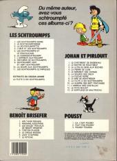 Verso de Les schtroumpfs -1b84a- Les schtroumpfs noirs