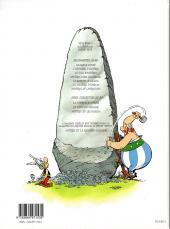 Verso de Astérix -32a2003- Astérix et la rentrée gauloise