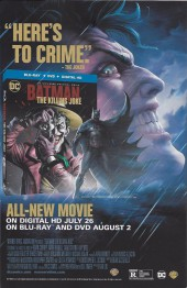 Verso de All Star Batman (2016) -1- My Own Worst Enemy, Part One