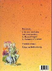 Verso de Martin Lohrer (Une aventure de) -4- Le testament d'Erasmus