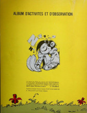 Verso de Gaston (Hors-série) -1- Gaston dessine et colorie