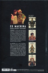 Verso de Ex Machina (Urban Comics) -5- Volume V