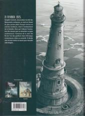 Verso de Séraphin Cantarel (Une aventure de) -1- Avis de tempête sur Cordouan