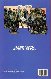 Verso de Dark War -1- Les guerriers de lumière