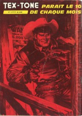 Verso de Tex-Tone -423- L'orgueilleux