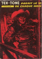 Verso de Tex-Tone -436- Billy John