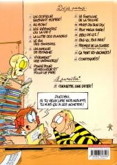 Verso de L'Élève Ducobu -13Ind- Pas vu, pas pris !
