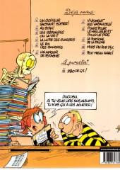 Verso de L'Élève Ducobu -2a2005- Au coin !