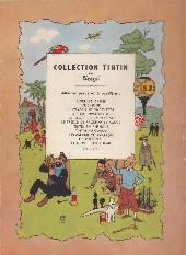 Verso de Tintin (Historique) -5B01- Le lotus bleu