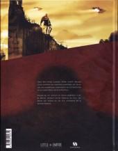 Verso de Blackfury -1- La Griffe du Styx
