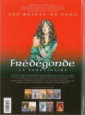 Verso de Les reines de sang - Frédégonde, la sanguinaire -2- Volume 2/2