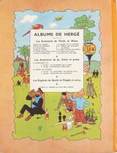 Verso de Tintin (Historique) -12B06- Le trésor de Rackham Le Rouge