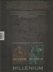 Verso de Millénium -INT3FL- Millénium, tomes 5 & 6