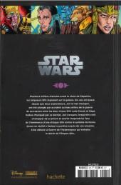 Verso de Star Wars - Légendes - La Collection (Hachette) -225- La Légende des Jedi - II. La Chûte des Sith