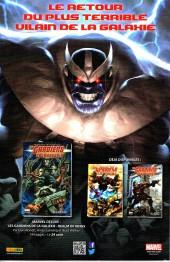 Verso de Marvel Saga (3e série - 2016) -2- Le Tournoi des champions