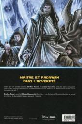 Verso de Star Wars - Obi-Wan et Anakin - Réceptifs et hermétiques