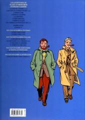 Verso de Blake et Mortimer (Les Aventures de) -13c12- L'affaire Francis Blake
