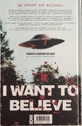 Verso de X-Files (The) -2- Les nouvelles affaires non classées