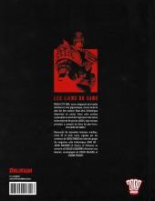 Verso de Judge Dredd (Delirium) -2- Les Liens du sang
