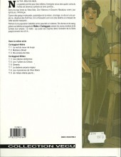 Verso de De silence et de sang -2a96- Mulberry street
