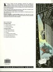 Verso de De silence et de sang -5a1996- Les 7 piliers du chaos