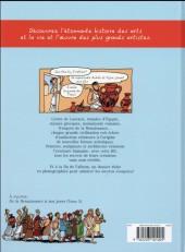 Verso de L'histoire de l'art en BD -1- De la préhistoire... ...à la Renaissance !