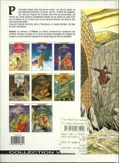 Verso de Les aigles décapitées -7a95- La prisonnière du donjon