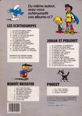 Verso de Les schtroumpfs -6b84- Le Cosmoschtroumpf