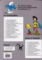 Verso de Les schtroumpfs -6c04- Le Cosmoschtroumpf