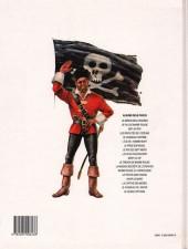 Verso de Barbe-Rouge -14b1991- Le pirate sans visage