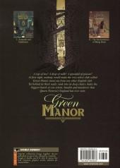 Verso de Green manor (en anglais) -1- Assassins and gentlemen