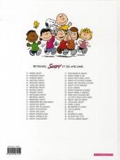Verso de Peanuts -6- (Snoopy - Dargaud) -3a08- Intrépide Snoopy
