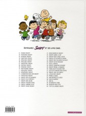 Verso de Peanuts -6- (Snoopy - Dargaud) -9a09- Invincible Snoopy