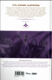 Verso de Star Wars - Clone Wars -6a16- Démonstration de Force
