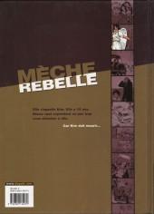 Verso de Mèche rebelle -1- Kim