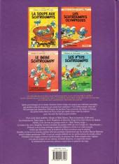 Verso de Les schtroumpfs - L'Intégrale -4- 1975 - 1988